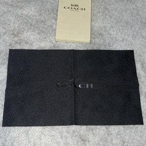 Coach sunglasses cleaning cloth